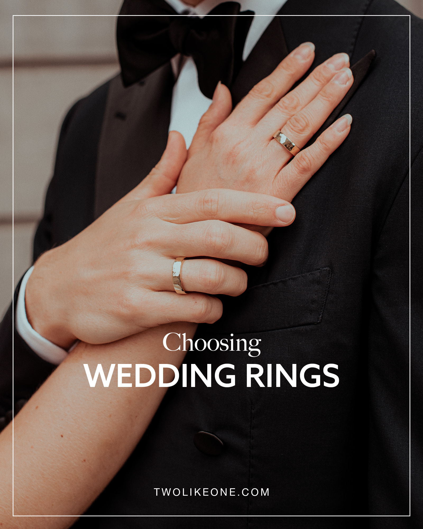 Choosing wedding rings inspiration at twolikeone.com