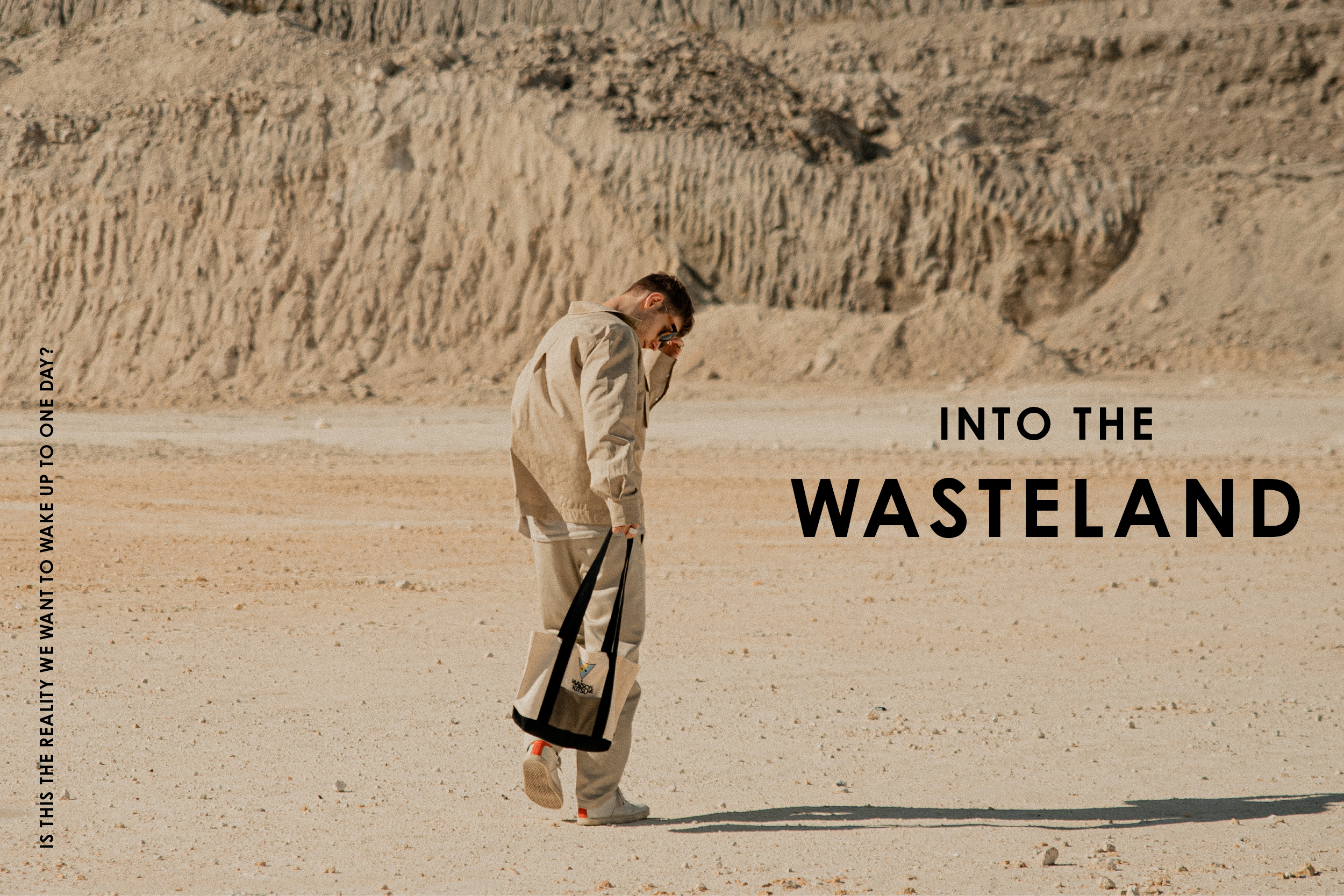 into the wasteland Fashion Editorial - aw20